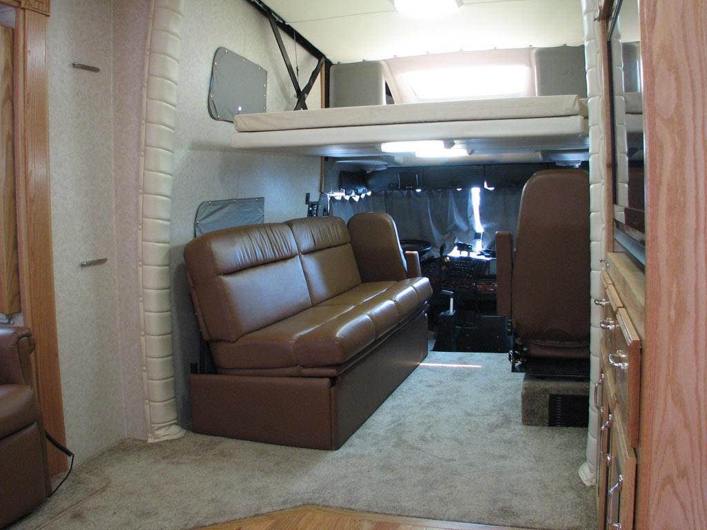 Luxury Motorhomes with Bunk Beds