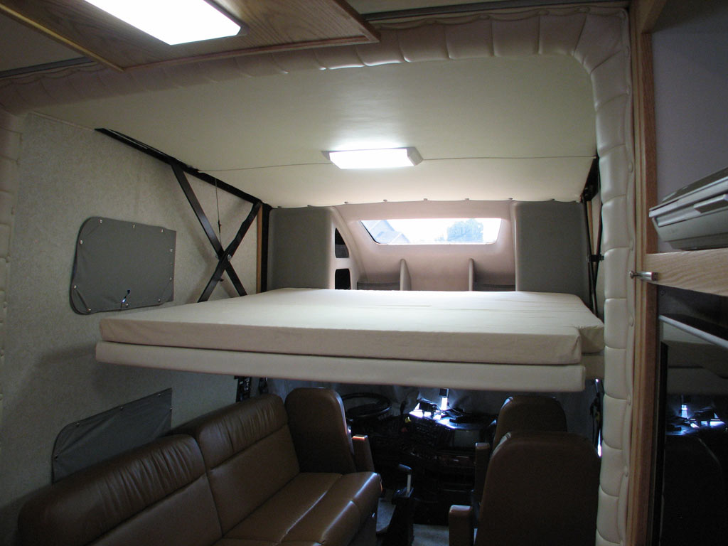 Original Rv Beds Roadtrek 21popular Fullfeatured Class B Rv