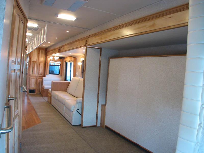 Customized Coach 22 Interior Pictures