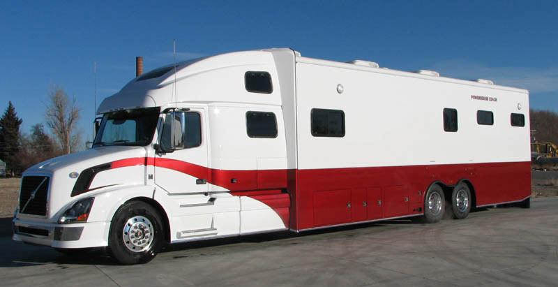 Luxury custom motor coaches by powerhouse coach for Custom motor coach builders
