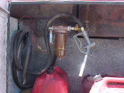 Aux Gas Tank & Pump