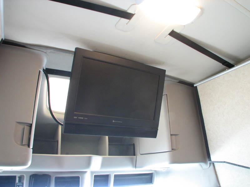 Cab lounge Tv down